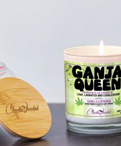 Ganja Queen Lid And Candle