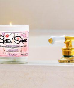 Gettin' Some Bathtub Side Candle