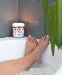 Happy Birthday Sugar Tits Bathtub Candle