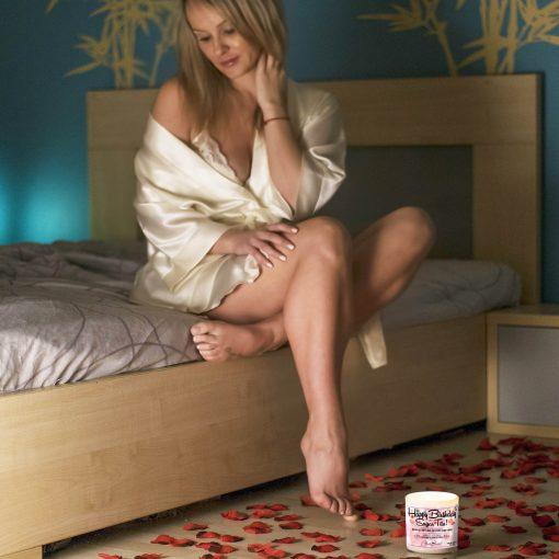 Happy Birthday Sugar Tits Bedroom Candle