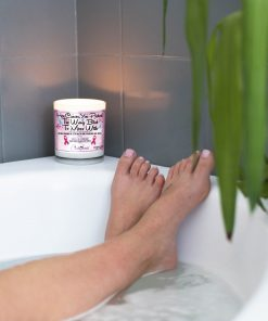 Hey Cancer You Picked The Wrong Bitch to Mess With Bathtub Candle