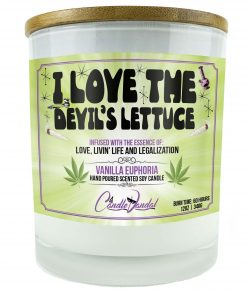 I Love The Devils Lettuce Candle