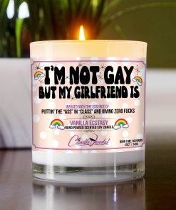 I'm Not Gay But My Girlfriend is Table Candle