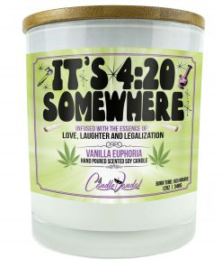 It's 420 Somewhere Candle