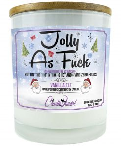 Jolly as Fuck Candle
