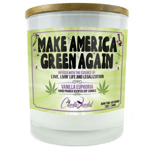Make America Green Again Candle
