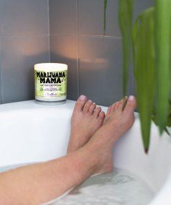 Marijuana Mama Bathtub Candle