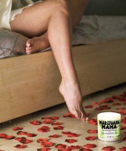 Marijuana Mama Bed Candle