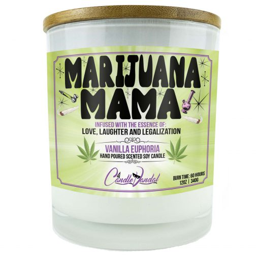 Marijuana Mama Candle