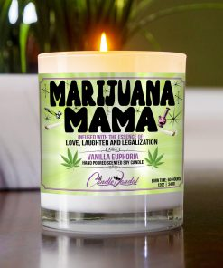 Marijuana Mama Table Candle