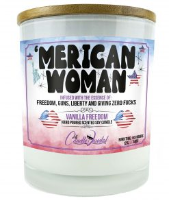 Merican Woman Candle