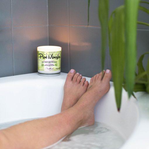 Plant Manager Bathtub Candle
