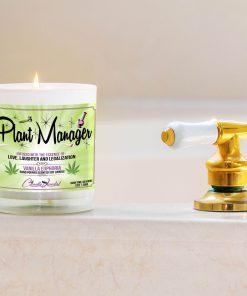 Plant Manager Bathtub Side Candle