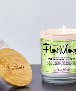 Plant Manager Lid And Candle
