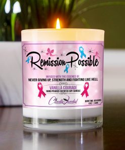 Remission Possible Table Candle